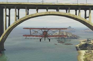 Carefully, slowly... - Under the Bridge - Challenges - Grand Theft Auto V Game Guide