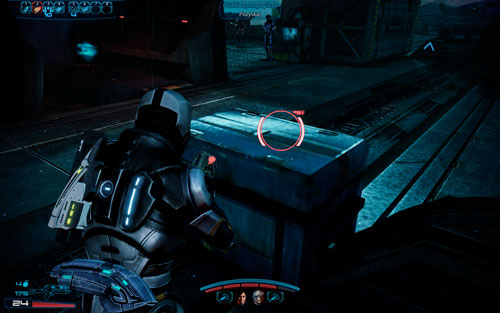 Mining equipment [1500 credits] - behind the broken bridge, in the right container - 2181 Despoina I - Walkthrough - Mass Effect 3: Leviathan - Game Guide and Walkthrough