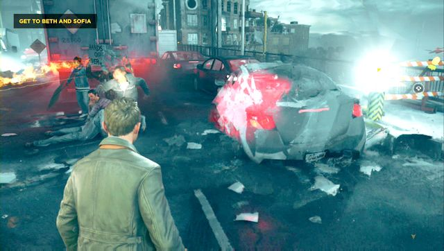 Theres a collectible on the bridge as well. - Chronon Sources (act IV and V) - Secrets - Quantum Break - Game Guide and Walkthrough