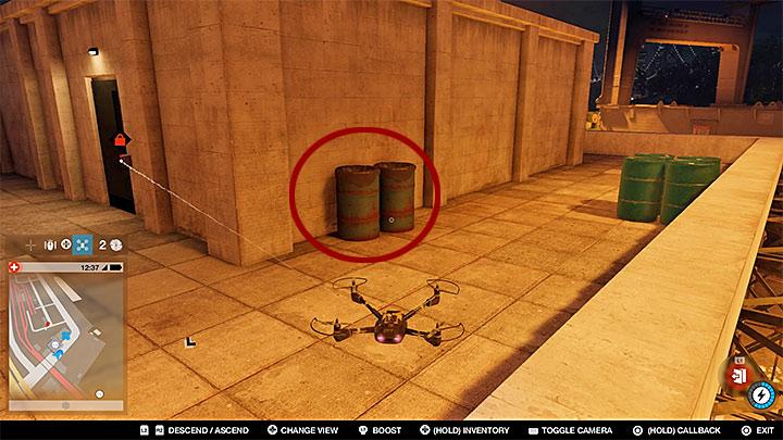 Точка исследования связана с антенной, прикрепленной к зданию (стеклянный мост), но сначала вам нужно взломать систему - Точки исследования - карта, локации 1-61 - Коллекционирование - Руководство по игре Watch Dogs 2