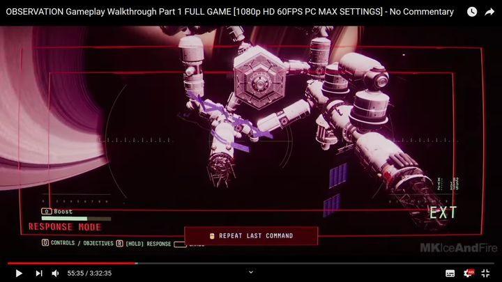 Затем найдите поврежденный предмет под названием RU-07 - III.  Первая космическая прогулка    Прохождение Наблюдения - Прохождение - Руководство по Наблюдению