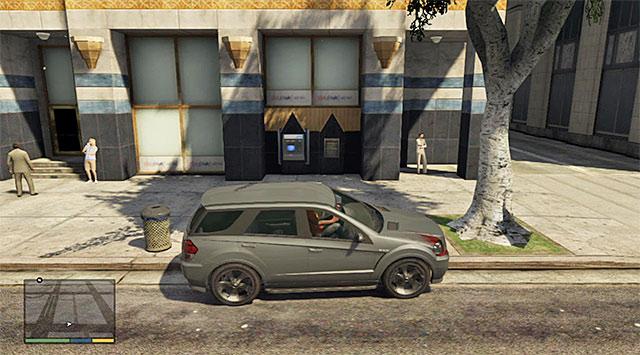 An example ATM - ATM robbery - Random events - Grand Theft Auto V Game Guide