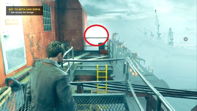 The last source can be found above the bridge, in the passageway. - Chronon Sources (act IV and V) - Secrets - Quantum Break - Game Guide and Walkthrough