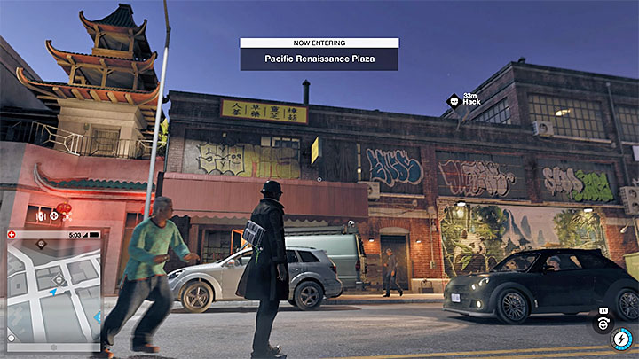 This point is also on the roof, but before being able to get it you have to get onto another roof, where a red, closed-circuit terminal is located - Research points - locations 62-112 - Collectibles - Watch Dogs 2 Game Guide