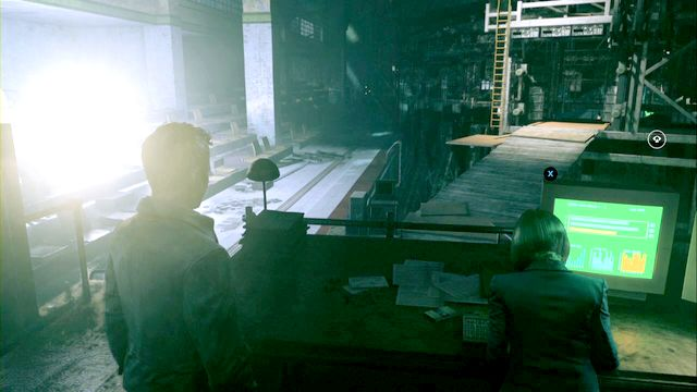 You will find the source right next to doctor Amaral sitting on the stands. - Chronon Sources (act IV and V) - Secrets - Quantum Break - Game Guide and Walkthrough
