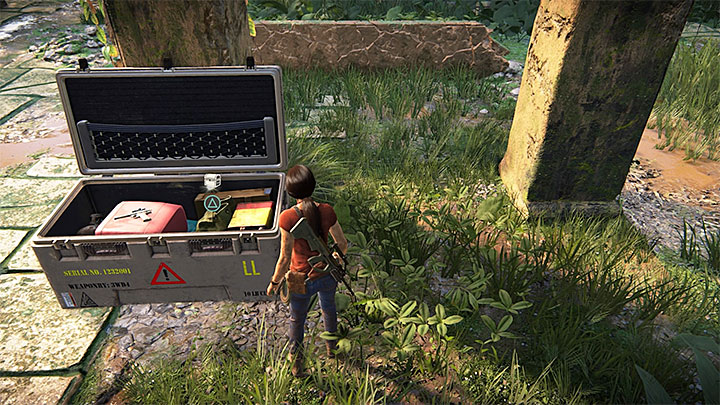This treasure can be found during your searches for one of the lockboxes - 4 - Treasures in Wester Ghats | Secrets - Secrets - Uncharted: The Lost Legacy Game Guide