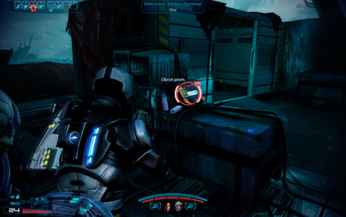 Cranial trauma system III (pistol) - in the middle of the shuttle, to the left underneath a big lever - 2181 Despoina I - Walkthrough - Mass Effect 3: Leviathan - Game Guide and Walkthrough