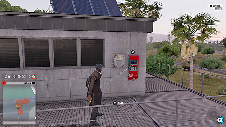 You can now switch to Marcus and enter the restricted zone - Key data - locations from 13 to 24 - Collectibles - Watch Dogs 2 Game Guide
