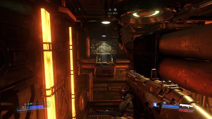 В какой-то момент уровня вы столкнетесь с панелью, которая требует руки конкретного сотрудника - Foundry |  Секреты - Секреты - Руководство по игре в Doom и прохождение