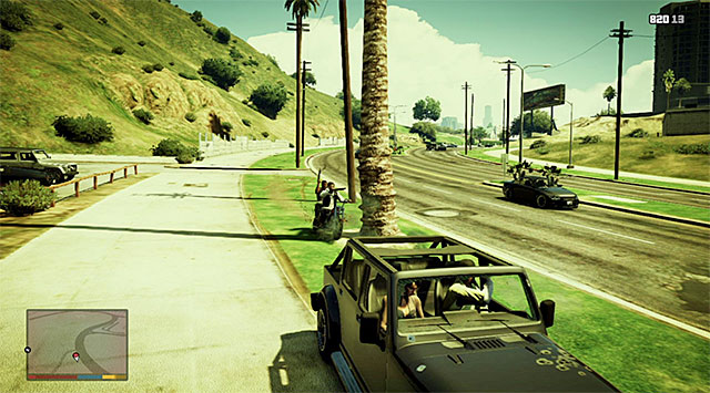 Be prepared to fight back another group of bikers - Snatched - Random events - Grand Theft Auto V Game Guide