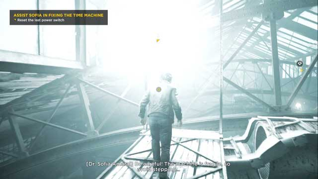 On the elevation in front of the switch. - Chronon Sources (act IV and V) - Secrets - Quantum Break - Game Guide and Walkthrough