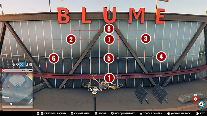 This one will be a little bit more tricky, though not extensively - Research points - locations 62-112 - Collectibles - Watch Dogs 2 Game Guide