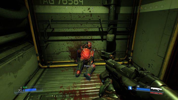 В переулке впереди вы найдете первую элитную гвардию [2] - Foundry |  Секреты - Секреты - Руководство по игре в Doom и прохождение