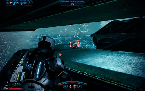 M-55 Argus -on the box, right next to the exit from the shuttle - 2181 Despoina I - Walkthrough - Mass Effect 3: Leviathan - Game Guide and Walkthrough