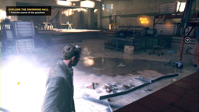 A nearby Chronon Source. - Chronon Sources (act IV and V) - Secrets - Quantum Break - Game Guide and Walkthrough