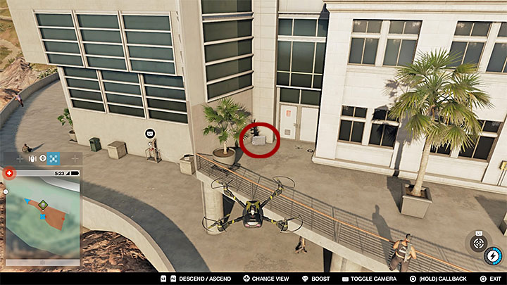 The house by the cliff is a restricted zone - Key data - locations from 13 to 24 - Collectibles - Watch Dogs 2 Game Guide