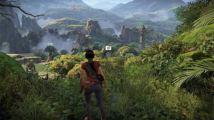 You can take this photo when you are going through Shiva fort in the north part of the map - 4 - Photos, optional conversations and lockboxes in Wester Ghats | Secrets - Secrets - Uncharted: The Lost Legacy Game Guide