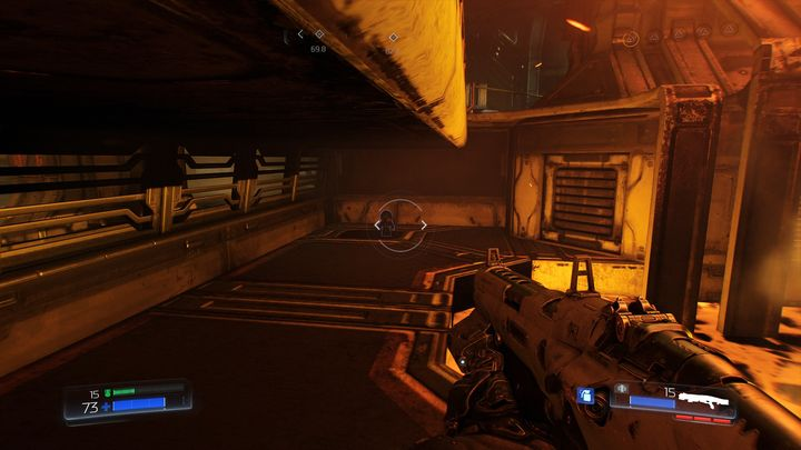 Когда вы обернитесь, вы увидите первый предмет коллекционирования на этом уровне - Foundry |  Секреты - Секреты - Руководство по игре в Doom и прохождение