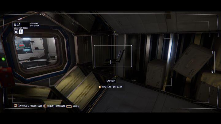 В модуле ULA вы найдете ноутбук с сообщением от Mae (MM-SL & AY - EMMA & JOSH) - IV.  Центр    Прохождение Наблюдения - Прохождение - Руководство по Наблюдению