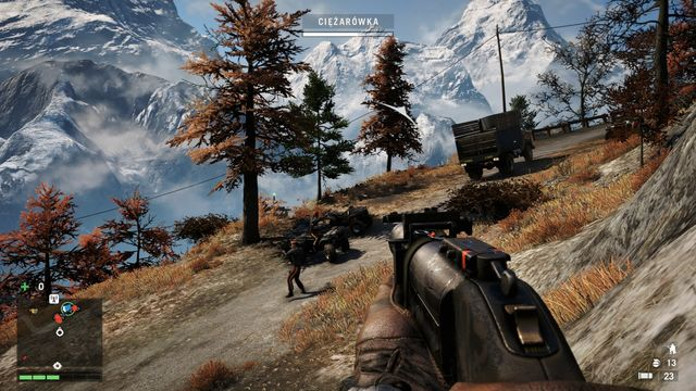 After the situation gets tight, get out of the truck and eliminate the threat. - Armed escort - Activities - Far Cry 4 - Game Guide and Walkthrough