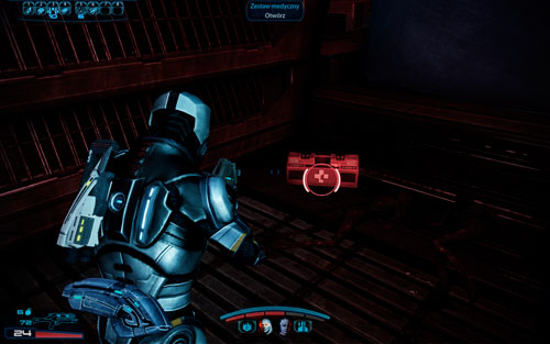 Medkit II - [150 EXP ] - in the second landing site of the shuttle - 2181 Despoina I - Walkthrough - Mass Effect 3: Leviathan - Game Guide and Walkthrough