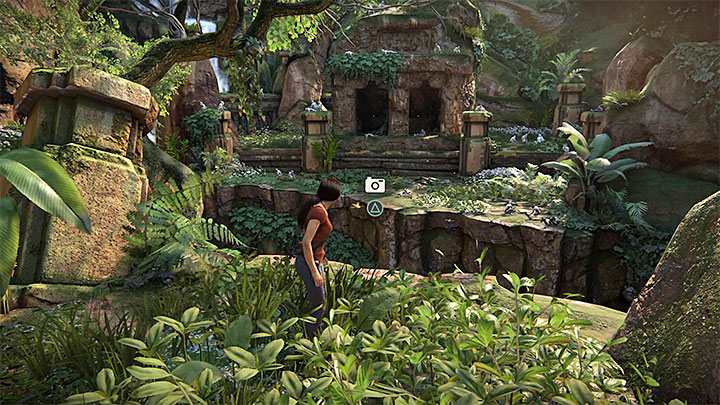 1 - 4 - Photos, optional conversations and lockboxes in Wester Ghats | Secrets - Secrets - Uncharted: The Lost Legacy Game Guide