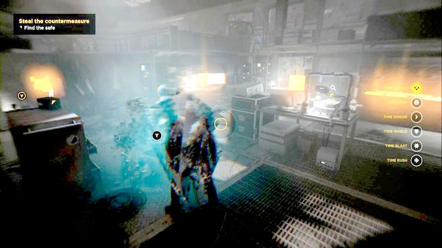 The next laboratory contains a lot of secrets and the source youre looking for. - Chronon Sources (act IV and V) - Secrets - Quantum Break - Game Guide and Walkthrough