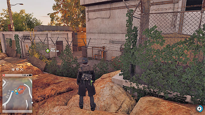 The sought secret is inside a small building located near one of the corners of restricted area - Key data - locations from 13 to 24 - Collectibles - Watch Dogs 2 Game Guide
