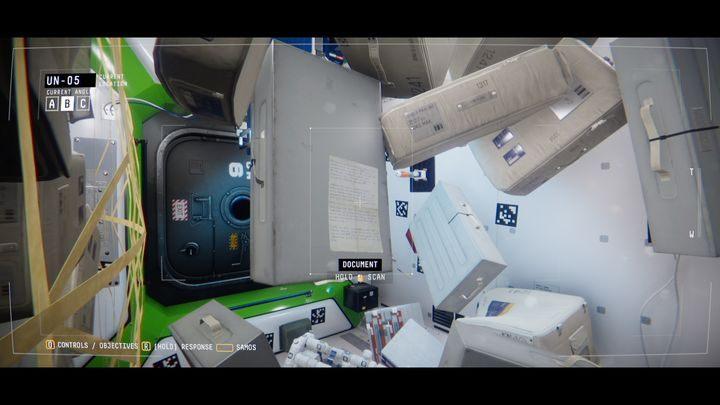 В ООН-05 отсканируйте документ, находящийся на коробке, с документами СФЕРНЫЕ ЭКСПЕРИМЕНТАЛЬНЫЕ ЗАМЕЧАНИЯ - IV.  Центр    Прохождение Наблюдения - Прохождение - Руководство по Наблюдению