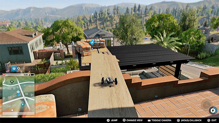 Это тяжелое задание можно найти на крыше металлической конструкции - поначалу это может показаться трудным - покраска, одежда и уникальные транспортные средства - предметы коллекционирования - Watch Dogs 2 Game Guide