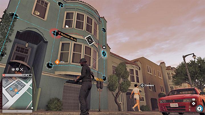 Вы можете видеть сетевые обходы с земли или использовать квадрокоптер, или взламывать камеры - Общие советы - Основы - Руководство по игре Watch Dogs 2