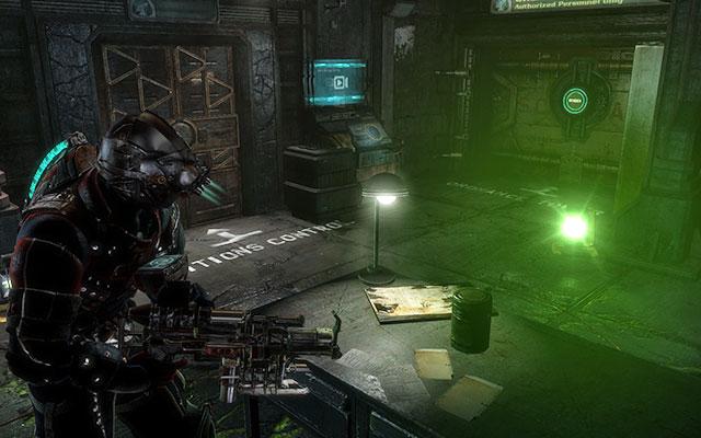 Двигайтесь вперед, устраняя все угрозы на своем пути - Исследуйте хранилище артефактов    Побочные миссии: Хранение артефактов - Побочные миссии: Хранение артефактов - Dead Space 3 Game Guide