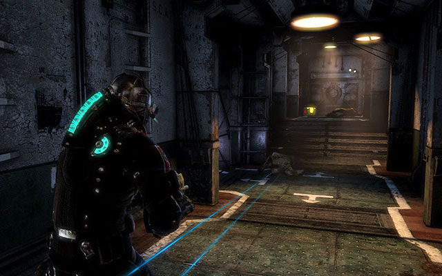 When youre able to breathe normally, youll be attacked by several Necromorphs - Find the source of the transmission | Co-op missions: C.M.S. Brusilov - Co-op missions: C.M.S. Brusilov - Dead Space 3 Game Guide