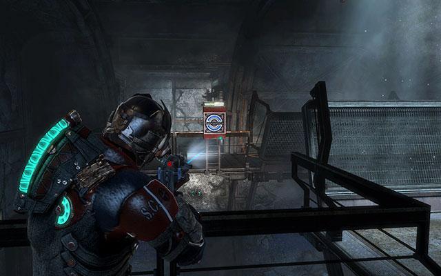 Поднимитесь по лестнице и пройдите по опущенному мосту к лифту - найдите все, что пережило чистку    Побочные миссии: Службы утилизации - Побочные миссии: Службы утилизации - Dead Space 3 Game Guide