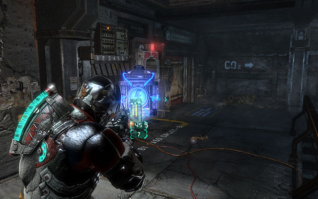 Move further until you get to the corridor with several blocked doors (there are slot for powering cores near them) - Investigate the warehouses secrets | Co-op missions: Archeology - Co-op missions: Archeology - Dead Space 3 Game Guide