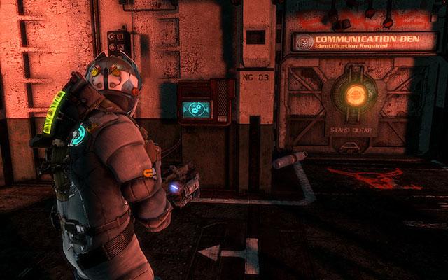 Как только вы закончите с истреблением, перейдите к панели на стене, чтобы обойти систему - задача состоит в том, чтобы найти три мигающие синие точки - Найти Эдвардса    Побочные миссии: Conning Tower - Побочные миссии: Conning Tower - Dead Space 3 Руководство по игре