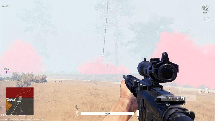 В какой-то момент вертолет остановится в случайном месте - Эвакуация в Fear the Wolves - Ход матча - Руководство по игре Fear the Wolves