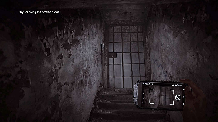 You enter a tight corridor that will take you to the gate presented in the picture - The Kidnapping | Hidden memories - Hidden memories - Get Even Game Guide