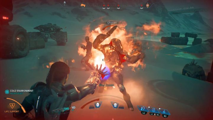 Remember to attack enemies without shields and/or armor. - How to unlock the Pyrotechnics Expert trophy in Mass Effect: Andromeda? - Achievements / Trophies - Mass Effect: Andromeda Game Guide