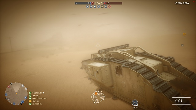 From the first point you learned not to drive this tank alone, but sometimes you will be forced to do it anyway - Tanks - Advice - Battlefield 1 Game Guide
