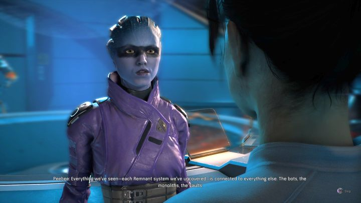 Peebee. - How to start a romance with Peebee in Mass Effect: Andromeda? - Romances - Mass Effect: Andromeda Game Guide