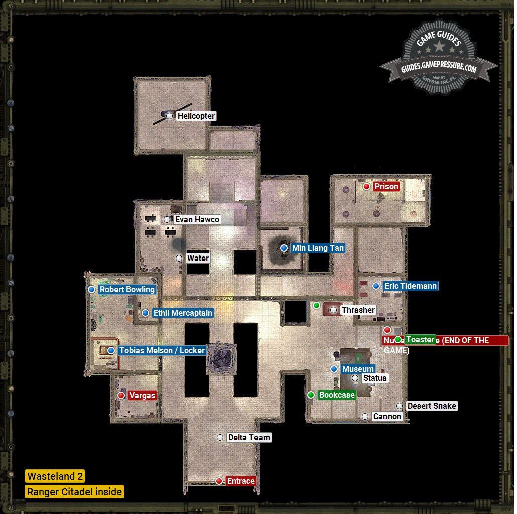 Wasteland 2 - Ranger Citadel inside