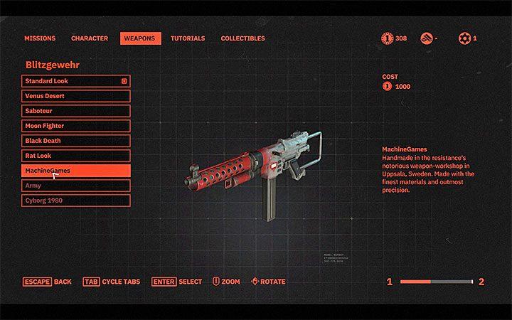 Ситуация выглядит так же и в случае с оружейной шкурой. Какие монеты используются в Wolfenstein Youngblood?  - Wolfenstein: Youngblood - Руководство по игре и прохождение игры