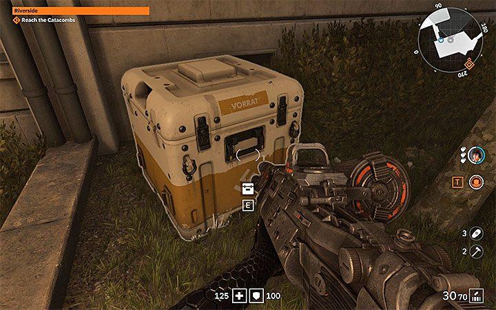 Следующий метод - открытие желтых коробок - пример показывает картинку выше - Как получить серебряные монеты в Wolfenstein Youngblood?  - Wolfenstein: Youngblood - Руководство по игре и прохождение игры