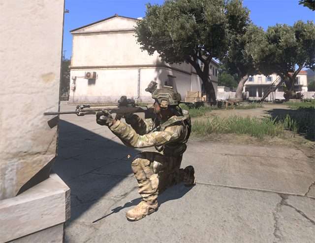 Peeking around the corner - Movement - Gameplay Basics - Arma III - Beta - Game Guide and Walkthrough