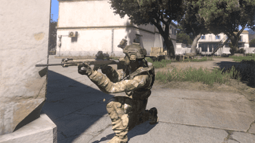 Peeking around the corner - Movement - Gameplay Basics - Arma III - Beta - Game Guide and Walkthrough