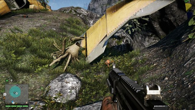 You will find the mask among underwater, in the middle of the river, near a dead body - Southern and central Kyrat - Yalungas Masks - Far Cry 4 - Game Guide and Walkthrough