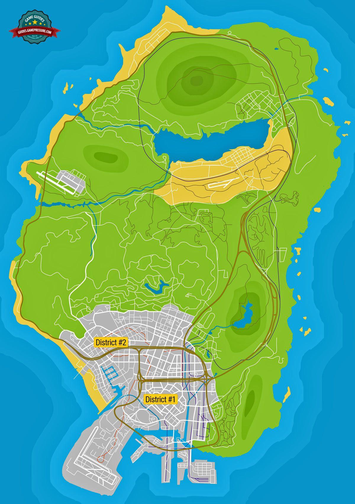 GTA V Map - Prostitutes