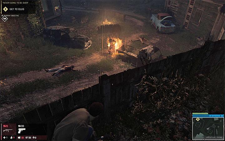 После бросания коктейля враг начнет гореть - Достижения Mafia 3 - Основная информация - Руководство по игре Mafia III