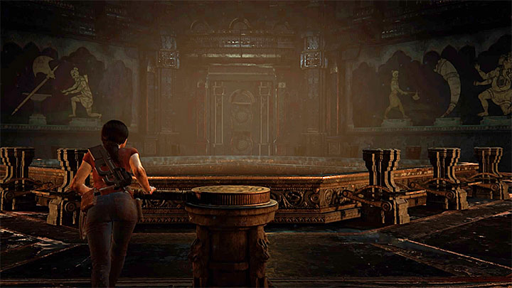 You can unlock this trophy while exploring Halebidu, i - Shadow Theater Trophy | Trophy Guide - Trophy Guide - Uncharted: The Lost Legacy Game Guide